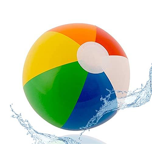 Wasserball Ø ca. 25 cm - Ball aufblasbar - Strandball für Baby & Kinder - Pool für Strand & Schwimmbad