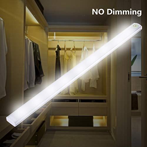 Elegantamazing - Tira de Luces LED con Sensor táctil, Regulable, luz de Cocina, lámpara de Noche, Barra rígida, White Light, Non-dimmable