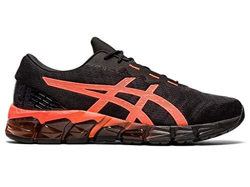 ASICS Men's Gel-Quantum 180 5 Shoes, 7M, Black/Sunrise RED