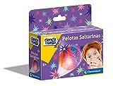Clementoni-55401 - Mini Set - Pelotas Saltarinas - Juego científico a Partir de 8 años