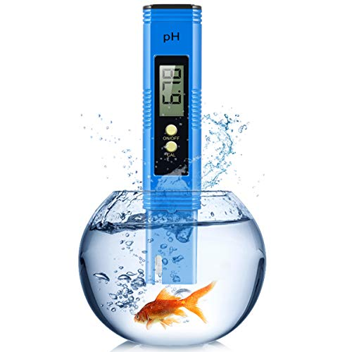 PH Meter, TDS/PPM/EC Meters for Hydroponics with 0-14 PH Measurement Range, 0.01 PH High Accuracy PH Reader for Water/Brewing/Food/Soil/Sauce/Laboratory, Water PH Tester Digital