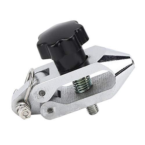 QWXZ Einstellbare tragbare Vorrichtung 500N 8mm Push-Pull Force-Fixture hohe Härte Edelstahl Clamp for Zugprüfmaschine Große Klemmkraft und Feste Fixierung