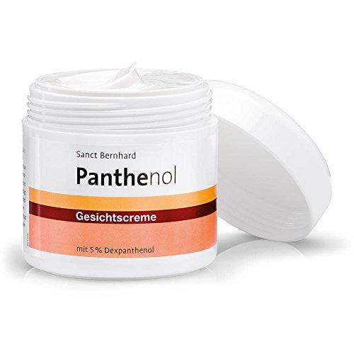 Sanct Bernhard Panthenol Gesichtscreme mit 5% Dexpanthenol, parfumfrei, ohne Farb- und Konservierungsstoffe, Inhalt 100ml