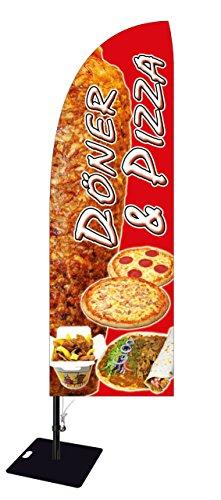 Beachflag Pizza & Döner BMD013