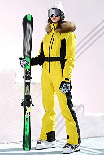 Bewinch Traje De Esquí para Mujer, Damas Invierno Cálido Snowsuit, Una Sola Pieza,...