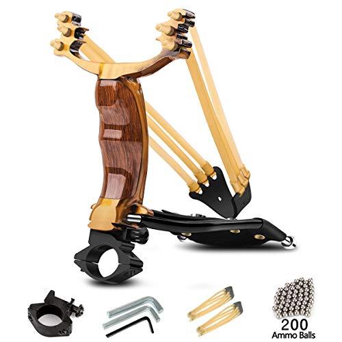 MoreFarther Professional Slingshot Set, Wrist Rocket Slingshot Y Shot Sling Shot Hunting slingshots...