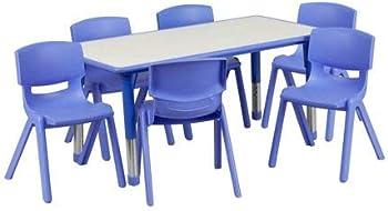 Flash Furniture Plastic Activity Table Set