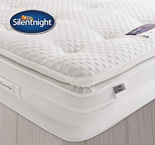 Silentnight 2000 Pocket Gel Pillowtop Mattress | Medium Soft | King