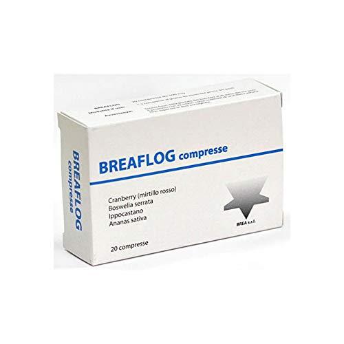 Breaflog - con spiccata attività antinfiammatoria ed antimicrobica - 20 cpr