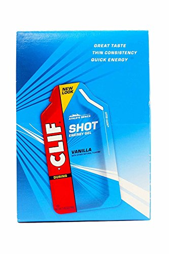 Clifbar Clif Shot Energy Gel  24 Pack Vanilla One Size