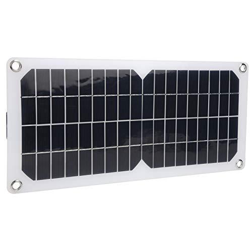 Jopwkuin Panel Solar, Cargador Solar de Carga de Emergencia Panel Solar portátil Cargador de teléfono Celular Solar para Mochila de Bricolaje y Uso didáctico para Carga de Dispositivos de 5 V