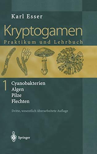 Kryptogamen 1: Cyanobakterien Algen Pilze Flechten Praktikum und Lehrbuch