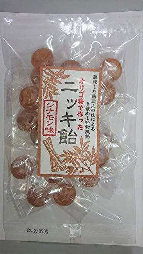 オリゴ糖 で作った ニッキ 飴 (シナモン 味)×12袋 まとめ買い お買い得