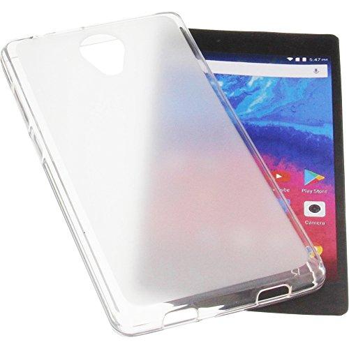 foto-kontor Tasche für Archos Core 50 Gummi TPU Schutz Handytasche transparent weiß
