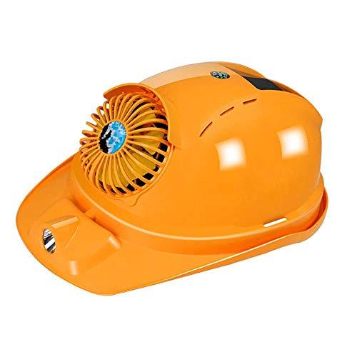 ファン付 ヘルメット ソーラー 充電 ledライト 作業用 省エネ 角度調整 軽量 ヘッドライト 工事現場 コンパクト 冷却 涼しい 建設ハードハット 災害対策 安全ヘルメット 換気する 安全 HANBUN