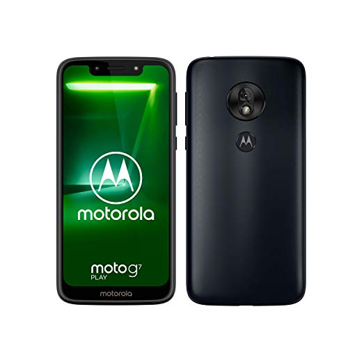 Motorola Moto G7 Play Single SIM, 32GB 2GB Ram, Deep Indigo