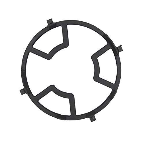 Meter Star, supporto universale per cucina e campeggio, per fornelli, moka, per fornello a gas, antiscivolo, in ghisa, 4 artigli, 5 artigli