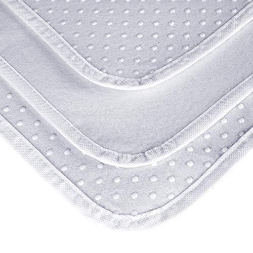 Laneetal Noppen Matratzenschoner mit Noppen 140 x 200 cm,Matratzen-Auflage, Unterbett Soft-Topper, Matratzenschutz Lattenrost Boxspring-Betten, rutschfest und atmungsaktiv