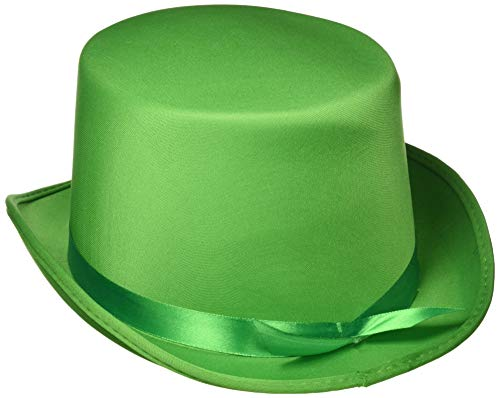 Loftus Dumb and Dumber Felt Style Top Hat - Green Costume Top Hat