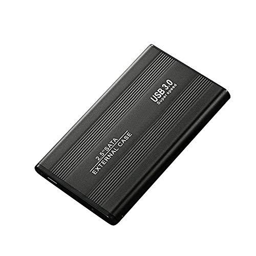 500G/1TB/2TB Disco Duro Externo Portátil USB 3.0 SATA3.0 Alta Velocidad con Cable Datos - Negro, 2tb