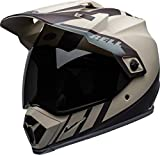 BELL HELMET MX-9 ADVENTURE MIPS DASH SAND/BROWN/GREY L