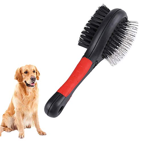Bvnivcxzem Flea Comb Dog Grooming Brush Dog Massage Brush Moulting Dog Brush Cat Flea Comb Slicker Dog Brush Flea Combs for Cats s