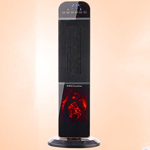 HAIZHEN Radiateur électrique Chauffe-maison Chauffage de salle de bains Télécommande Chauffage de bureau Chauffage à économie d'énergie Économie d'énergie (Couleur : Remote control)