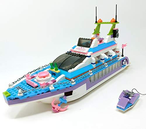 Bausteine Boot, Heartlake Partyboot Schiff mit Wassermotorrad, 40 cm