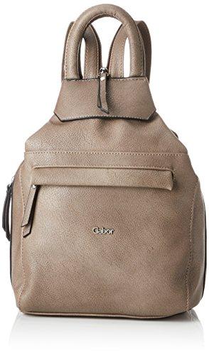Gabor bags Rucksack Damen Mina, Taupe, M, Rucksackhandtasche, Gabor Tasche Damen
