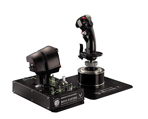 Thrustmaster HOTAS WARTHOG - PC - Joystick + Mando de potencia réplica HOTAS (Hands On Throttle And Stick) del avión de combate U.S. Air Force A-10C