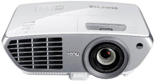 BenQ W1300 3D-DLP-Projektor (Neu 3D, Full-HD 1920 x 1080 Pixel, Kontrast 10.000:1, 2000 ANSI-Lumen, Lens Shift, HDMI, USB inkl. 3D-Brille) weiß
