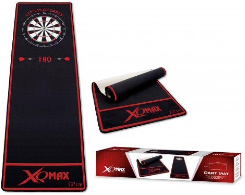 descuento de bajo precio Embassysport QXMAX QXMAX QXMAX - Esterilla para Dardos, Color Negro y Rojo  marcas de moda