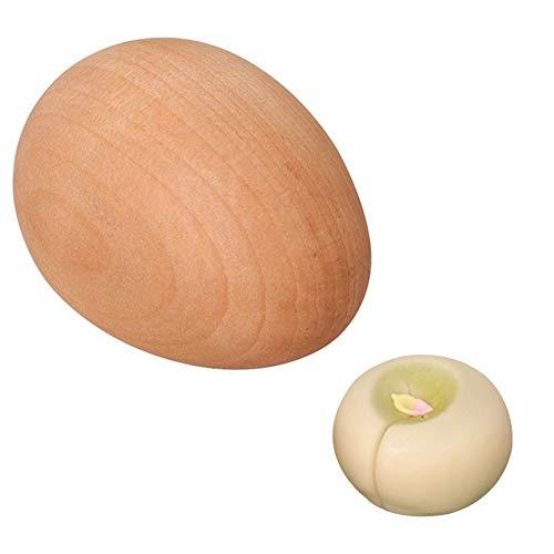 HIGHAWK和菓子 製菓 丸押し型 木製 練りきり型 和菓子用器具 製菓用品 手作り 生菓子 卵型 菓子型 練り切り 道具 和菓子道具 木型(丸押し型)