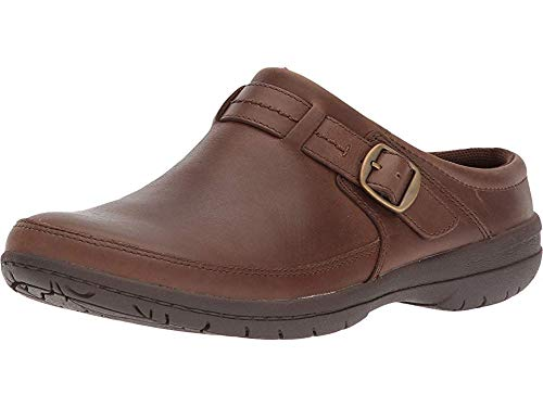Merrell Women's Encore Kassie Buckle Slide Clog, Dark Earth, 6.5 Medium US
