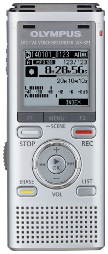 OM Digital Solutions WS-821 Voice Recorders with 2...