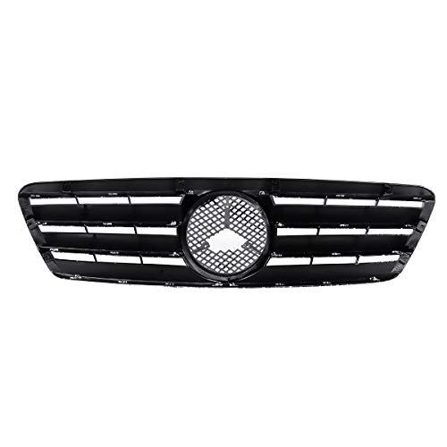 JZAMQ Parrilla Superior de Parachoques Delantera Delantera del Coche W203 Mercedes para Benz W203 C200 C230 C240 C320 2001-2007 C Clase