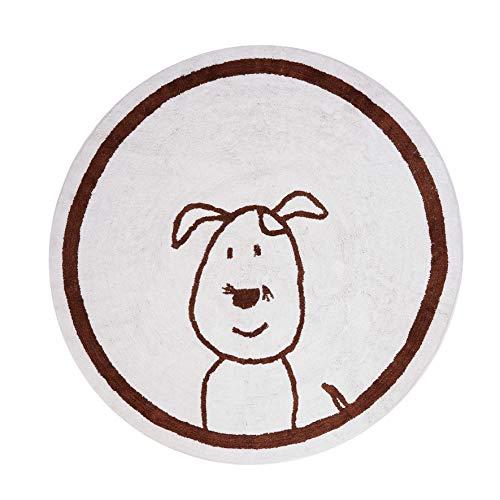 aratextil tapis enfant 100% coton LAVABLE en machine Collection perrito 140 cms Jour