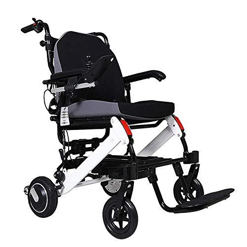 SCJ Rollstuhl Elektrorollstuhl Aluminiumrahmen Faltlicht kann im Flugzeug Rollstuhl Sein
