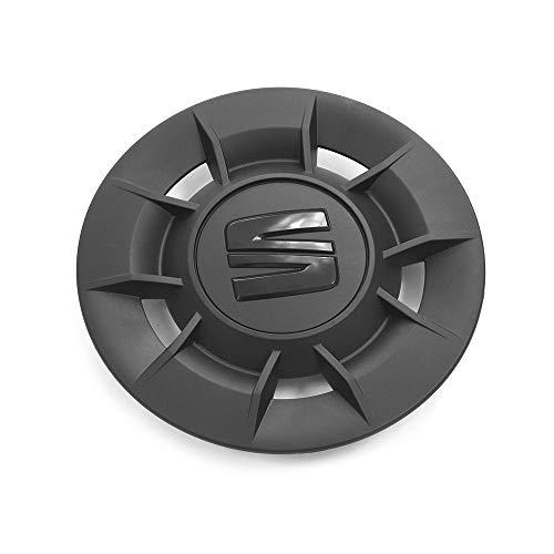 Seat 5756011699B9 Radzierblende (1 Stück) Nabenkappe Radkappe Urban 16 Zoll Stahlfelge, schwarz