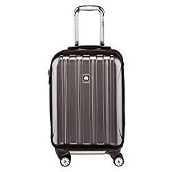 delsey Helium Aero expandable carry on spinner luggage 19 inch