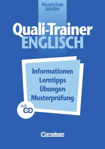 Quali-Trainer Englisch, Übungsheft, m. Audio-CD