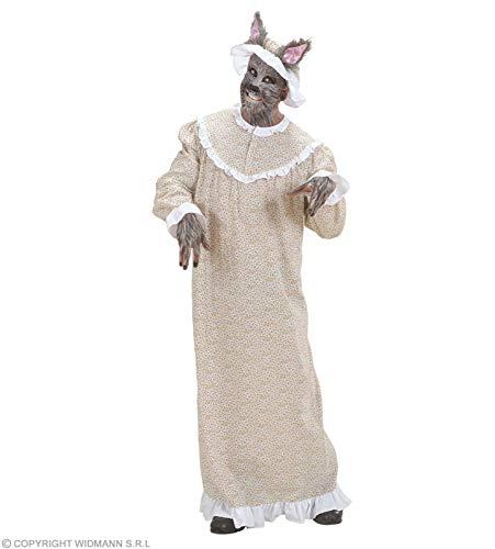 Widmann WDM – Kostüm Oma Wolf, Beige, Größe XL