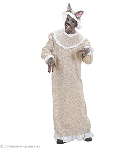 WIDMANN wdm71671?Disfraz abuela Lobo, Beige, Small