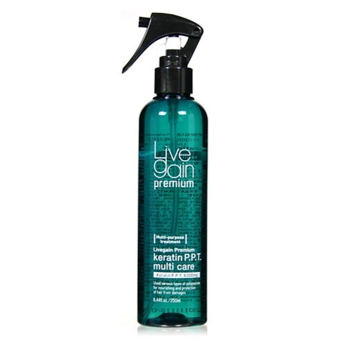 同種の体系的に農民Livegain プレミアム ケラチン PPT マルチ ヘア ケア 250ml - プレ & アフター トリートメント - カラーリング & パーマ ヘア 最適 - モイスチャライザー & デタングラー ( Livegain Premium Keratin PPT Multi Hair Care 250ml - Pre & After Treatment- Best for Colored & Perm Hair - Moisturizer & Detangler ) [並行輸入品]