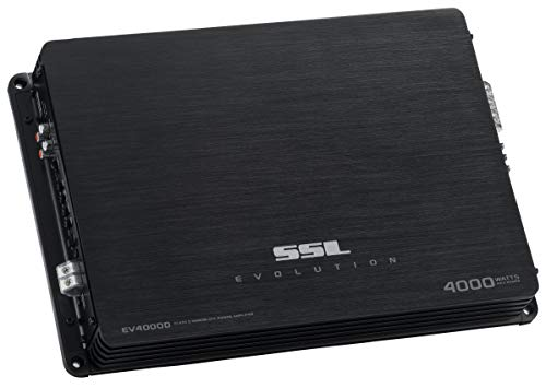 Sound Storm EV4000D Evolution 4000 Watt, 1 Ohm Stable Class D Monoblock Car Amplifier with Remote Subwoofer Control