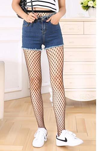 UKKD Pantys Moda Mujer Mallas Medias Jacquard Weave Pantyhose Hilos Liga Grid Medias Manguera Lencería Collant Pantyhose