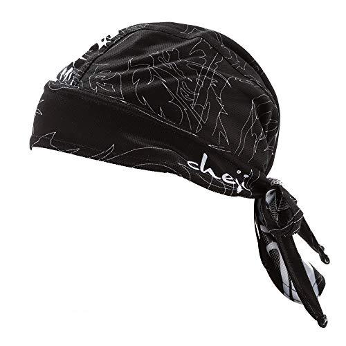 Fascia per capelli traspirante e ad asciugatura ra Foulard ciclismo sport all'aria aperta in bicicletta cappello traspirante protezione solare ad asciugatura rapida fascia da bicicletta UV signore uom