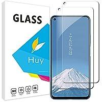 HUAWEI nova 5T ガラスフイルム ハーウェイ nova5T フイルム【2枚セッ】 日本旭硝子製 強化ガラス 液晶 保護フィルム 貼り付け簡単 硬度9H 防指紋 透過率98.5% ファーウェイnova 5t 用