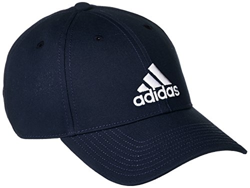 adidas 6P Cap Cotton Schirmmütze für Tennis für Herren, Blau (Maruni/Maruni/Weiß), M
