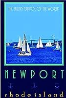 ERZAN風景 知育 puzzleニューポートロードアイランドセーリング米国アメリカ 旅行広告ジグソーパズル500ピース
